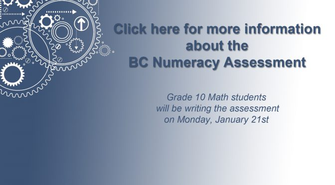 BC Numeracy Assessment