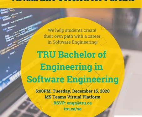 TRU-Software Engineering Info Session